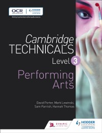 Cover Cambridge Technicals Level 3 Performing Arts