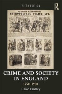 Cover Crime and Society in England, 1750-1900