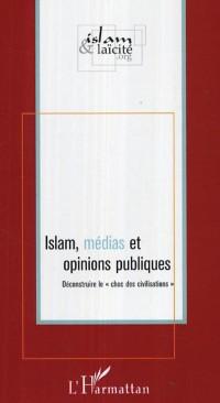 Cover Islam medias et opinions publiques