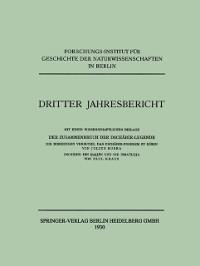 Cover Dritter Jahresbericht