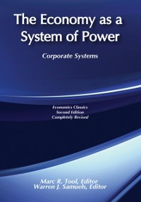 Cover Economy as a System of Power