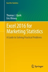 Cover Excel 2016 for Marketing Statistics