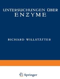 Cover Untersuchungen uber Enzyme