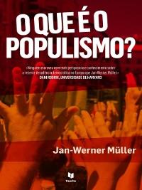 Cover O Que é o Populismo?