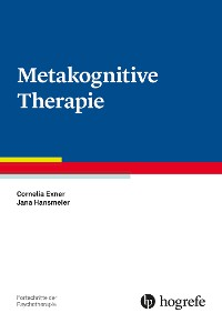 Cover Metakognitive Therapie