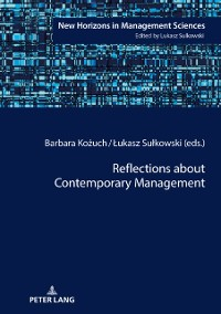 Cover Reflections about Contemporary Management