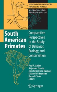 Cover South American Primates