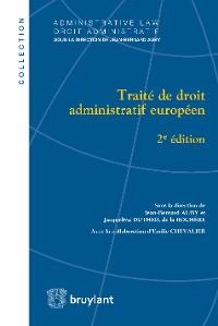 Cover Traité de droit administratif européen