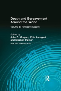 Cover Death and Bereavement Around the World