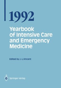Cover Yearbook of Intensive Care and Emergency Medicine 1992