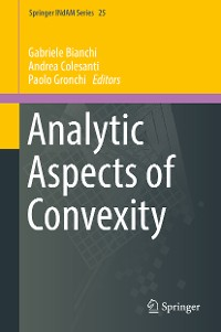 Cover Analytic Aspects of Convexity
