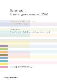 Cover Datenreport Erziehungswissenschaft 2020