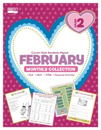 Cover February Monthly Collection, Grade 2