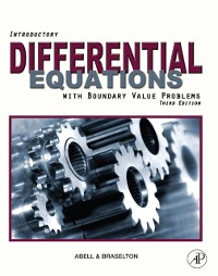 Cover Introductory Differential Equations