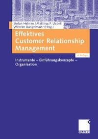 Cover Effektives Customer Relationship Management