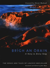 Cover Brigh an Òrain - A Story in Every Song