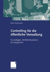 Cover Controlling fur die offentliche Verwaltung
