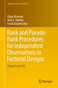 Cover Rank and Pseudo-Rank Procedures for Independent Observations in Factorial Designs