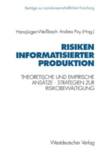 Cover Risiken informatisierter Produktion
