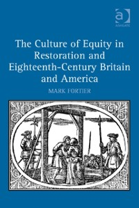 Cover Culture of Equity in Restoration and Eighteenth-Century Britain and America