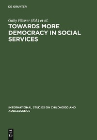 Cover Towards More Democracy in Social Services