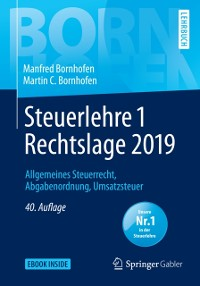 Cover Steuerlehre 1 Rechtslage 2019