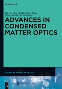 Cover Advances in Condensed Matter Optics