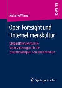 Cover Open Foresight und Unternehmenskultur