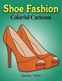 Cover Shoe Fashion Colorful Cartoons