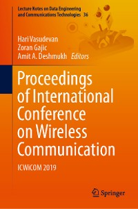 Cover Proceedings of International Conference on Wireless Communication