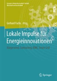 Cover Lokale Impulse für Energieinnovationen