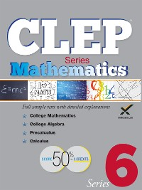 Cover CLEP Mathematics Series 2017