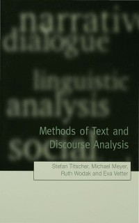 Cover Methods of Text and Discourse Analysis