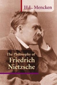 Cover Philosophy of Friedrich Nietzsche