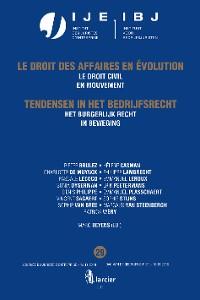 Cover Het burgerlijk recht in beweging / Le droit civil en mouvement
