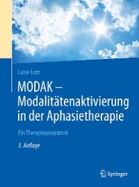 Cover MODAK - Modalitätenaktivierung in der Aphasietherapie