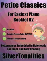 Cover Petite Classics for Easiest Piano Booklet H2