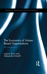 Cover Economics of Values-Based Organisations