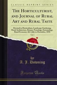 Cover The Horticulturist, and Journal of Rural Art and Rural Taste