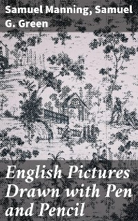 Cover English Pictures Drawn with Pen and Pencil