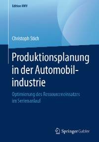 Cover Produktionsplanung in der Automobilindustrie