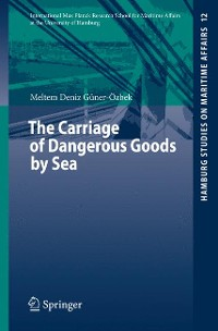 Cover The Carriage of Dangerous Goods by Sea