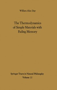 Cover Thermodynamics of Simple Materials with Fading Memory