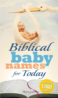 Cover Biblical Baby Names for Today