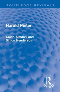 Cover Harold Pinter