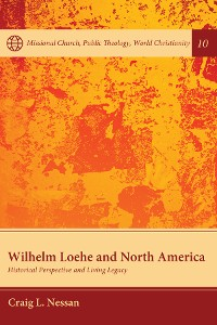 Cover Wilhelm Loehe and North America