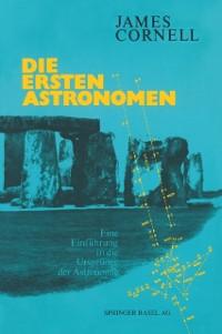 Cover Die ersten Astronomen