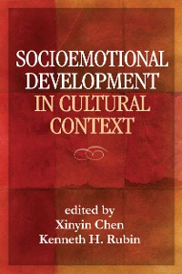 Cover Socioemotional Development in Cultural Context
