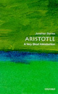 Cover Aristotle: A Very Short Introduction