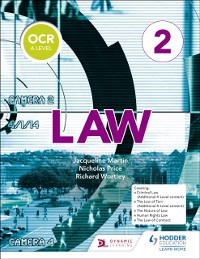 Cover OCR A Level Law Book 2